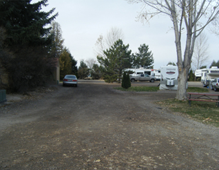 Grounds at Oregon Trail Campground
